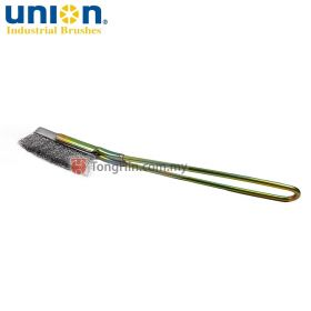UNION HI-13 Universal Hand Wire Brush Stainless Steel 0.15mm x 210mm