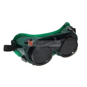 Industrial Grade Welding Safety Goggle Eye Protection With Clear and Black Lens