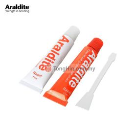 ARALDITE Rapid 5 Minutes Epoxy Adhesive Glue (Red White) 15ml