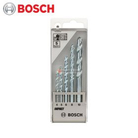 BOSCH Masonry Drill Bit Set (5 Pieces) 1609200228
