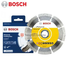 "BOSCH Diamond Cutting Discs 4"" (105mm) 2608615025 With Fine Foam Block 0615A000KA"