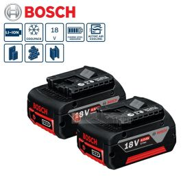 BOSCH Starter Kit Set 2 x GBA 18V 4.0Ah Battery + AL 1860 CV Professional Battery Charger