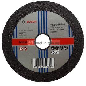 5'' Bosch Cutting Disc 2608 600 270 (125 x 3.0 x 22.23 A30RBF)