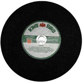 "KING BIRD 14"" Cut-Off Disc 350 x 2.5 x 25.4mm Metal"