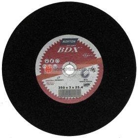 14'' Norton Cutting Disc (350 x 3.0 x 25.4 mm A24RBF41)