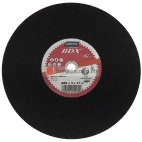 16'' Norton Cutting Disc (400 x 3.0 x 25.4 mm A24RBF41)