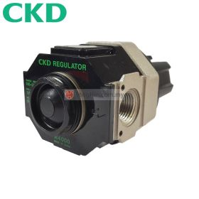 CKD R4000-15 FRL Air Filter Regulator with Pressure Gauge 1/2""