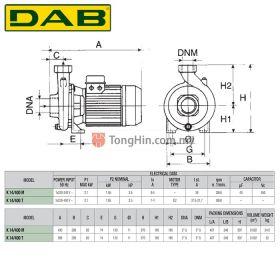DAB K14/400M Single Phase Single Impeller Centrifugal Pump