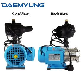 DAEMYUNG DSH2-30 Stainless Steel Domestic Water Pump with Auto Pressure Control 1""