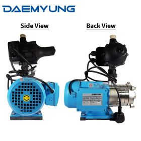 """DAEMYUNG DSH4-40 Stainless Steel Domestic Water Pump with Auto Pressure Control 1"""""""