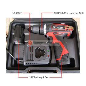 EUROPA HILT Cordless Hammer Drill EHH699-12V