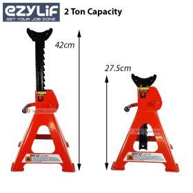 EZYLIF 2 Ton Heavy Duty Jack Stand