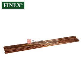 """FINEX CU-PHOS Copper Brazing Rod Flat 1/8"""" x 0.05"""" x 500mm (kg)"""