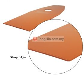 Fujiwa Japan Brush Cutter Blade 305 x 90 x 25.4mm Orange
