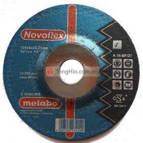 5'' Metabo Grinding Disc 16462 (125 x 6.0 x 22.23 mm A24BF)