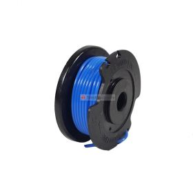Grass Trimmer Replacement Spool Blue 1.5 mm x 4 Meters for BOSCH ART23SL Grass Trimmer / GREENWORKS GST2830