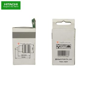 """HITACHI 401506 Keyed Drill Chuck Adaptor 13mm (1/2"""" x 20 UNF) with Chuck Wrench"""