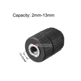 Industrial Grade Keyless Drill Chuck Adaptor 13 mm 1/2-20UNF