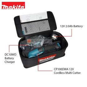 MAKITA CP100DWA 12V Max Cordless Multi Cutter with 2.0Ah Battery and Charger