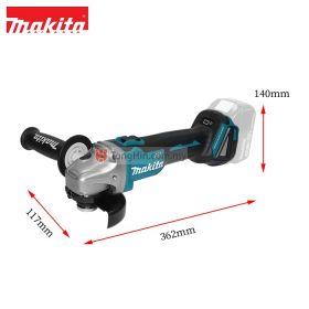 "MAKITA DGA404Z 18V Cordless Angle Grinder 100mm (4"")"