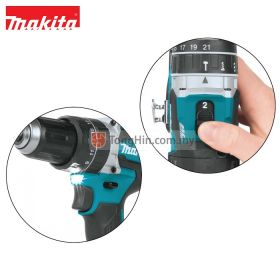 MAKITA DHP484Z Solo Cordless Heavy Duty Compact Hammer Driver Drill