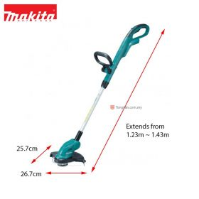 "MAKITA DUR181Z 18V Cordless String Trimmer 260mm (10-1/4"")"