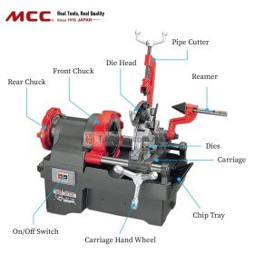"MCC 500 Pipe Threading Machine (1/4""-2"")"