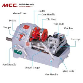 MCC BM25 Bolt Threading Machine