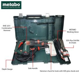 METABO KHE 3251 Combination Hammer 600659000