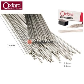 OXFORD ALLOYS Aluminium Alloy 1100 Welding TIG Brazing Rod 2.4mm/3.2mm x 1 meter