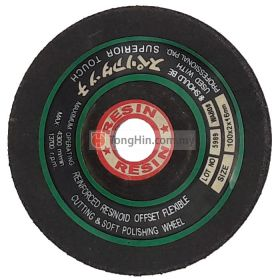 "RESIN 4"" Flexible Grinding Wheel 100 x 2.0 x 16mm Metal"