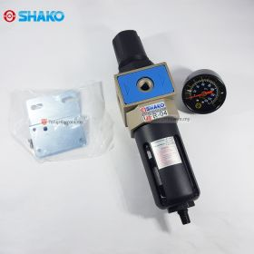 "SHAKO UFR-04D FRL Air Filter Regulator 1/2"" with Auto Drain"