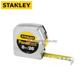 STANLEY STHT 33428-8 Powerlock 8m / 26 Ft Measuring Tape