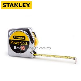 STANLEY STHT33158-8 5 Meters / 16 Feet Powerlock Measuring Tape