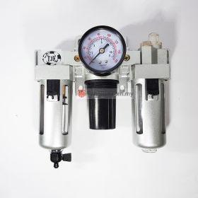 "TJE C-300 FRL Integrated Air Filter, Regulator and Lubricator 3/8"""