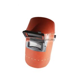 Industrial Grade Welding Head/Hand Shield Red Fibre With Lens