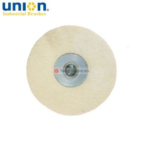 "UNION VFP41 Felt Buffing Dish Disc 4"" M10 x 1.5"
