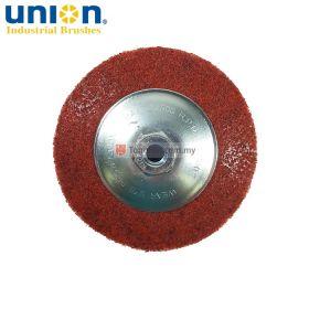 "UNION VNP-41180 Non Woven Grinding Dish Disc 4"" M10 x 1.5"