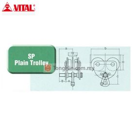 VITAL SP-20 Plain Trolley 2 Ton