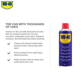 WD-40 Multi-Use Product 382ml Aerosol