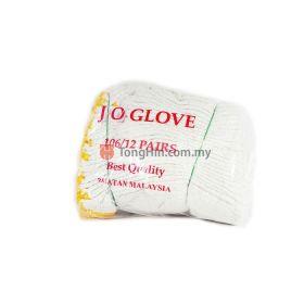Cotton Hand Glove Grade #106 (12 Pairs/Bag)
